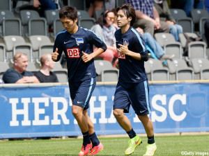 Hertha BSC - Press Conference & Training Session